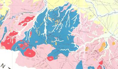 矿产资源图