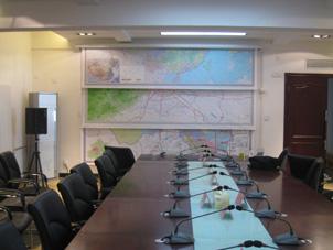 中国地图挂图安装