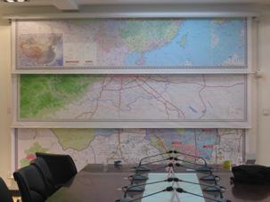 电动地图安装