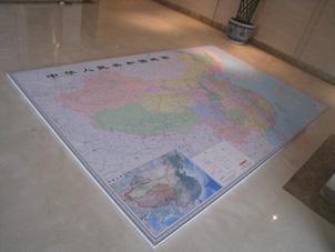 地图挂图安装