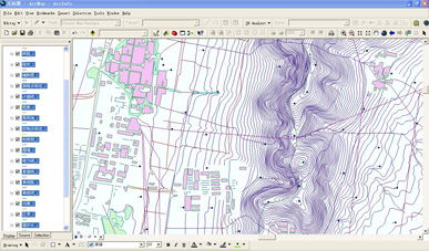 地形图数字化